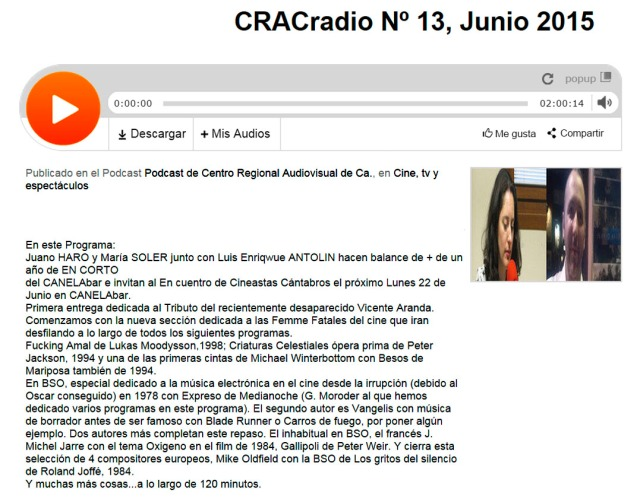 CRACradio Podcast N 13