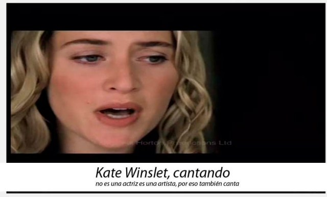 Kate Winslet canta